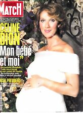 "Celine Dion ""Rare"" Paris Match Magazine December 2000"