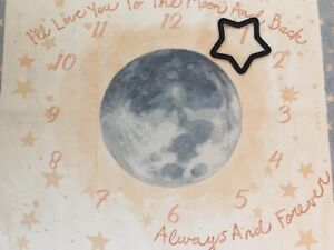 Baby Milestone Mat—I'll Love You To The Moon And Back With Milestone Marker
