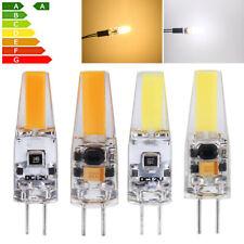 10x G4 LED COB Regulable 6W Halógena Cápsula Lámpara Ahorro de energía AC/DC 12V