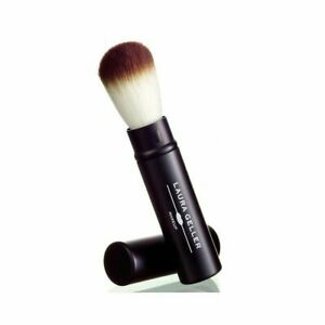Laura Geller Retractable Baked Powder Brush Foundation Makeup New In Clear Pkg
