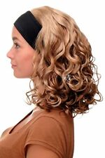 Damenperücke Perücke Stirnband voluminös Locken Blond Blond-Mix BRO-704-G15