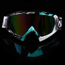 Ski Sport Snowmobile Goggles Eyewear Dirt Bike Motocross ATV MX Off-Road Glasses