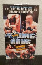 UFC 19 YOUNG GUNS MEZGER VS ORTIZ LIDDELL VS HORN  VHS NEW!
