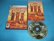 AGE OF EMPIRES III 3 THE WAR CHIEFS EXPANSION PC RTS STRATEGY V.G.C. FAST POST