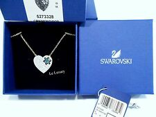 Swarovski Great Star Necklace, Blue, Crystal Authentic MIB 5273328