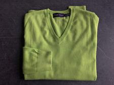 RALPH LAUREN Purple Label Kaschmir Pullover V-Neck Size 48 M (RLPL sweater polo)