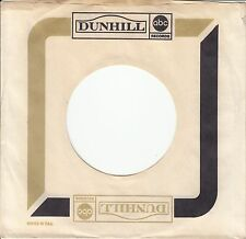 Company Sleeve 45 Abc/Dunhill - White W/ Olive And Black Banners W/ Dot Logo