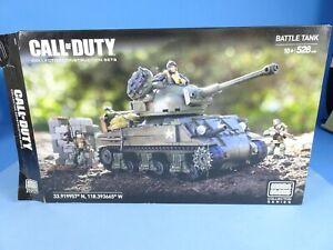 Mega Bloks Construx Call of Duty COD WW2 Battle Tank CNG96