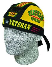 Vietnam Vet Veteran Doo Rag Headwrap Skull Cap Military Durag Sweatband Capsmith