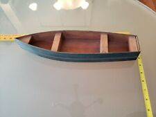SMALL  BOAT  KNICKKNACK SHELF / HOME DECOR