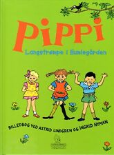 Buch Astrid Lindgren DÄNISCH, Pippi Langstrumpf Langstrompe i Humlegarden