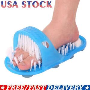 Shower Feet Foot Scrubber Massager Cleaner Spa Exfoliating Washer No Slip USA