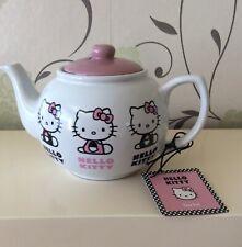 Hello Kitty Porcelain Teapot - Sanrio 2011 - Licensed Brand New & Tag(Rare Item)
