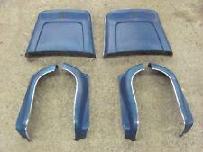 68 69 70 71 72 Pontiac GTO GS Chevelle Monte Carlo Bucket Seat Trim BLUE POWER
