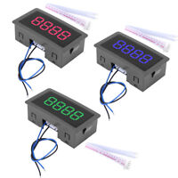 4-Digit LED Digital Counter Meter & Hall Sensor NPN Relay Output Switch DC5-30V