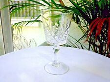 Cris D'Arques Durand Chantilly Taille Beaugency Clear Crystal Cordial Glass