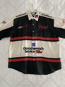 NASCAR VTG 90s Jeff Hamilton Vintage Short Sleeve Shirt Size XL - Mint Condition