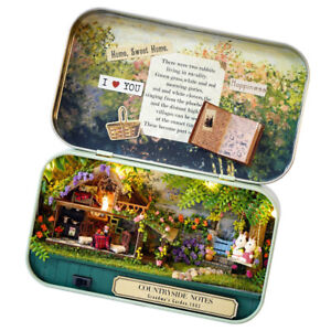 DIY Box Theatre Doll House Dollhouse Miniature Toy Gift -Countryside Notes