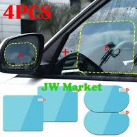 4x Waterproof For Car Rearview Mirror Rainproof Anti-Fog Rain-Proof Film Sticker