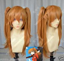 Neon Genesis Evangelion Asuka  Straight Cosplay Party Wig 75cm