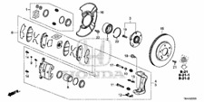 45022-TBA-A00 CIVIC FRONT BRAKE PADS