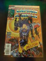 Captain America #10 (Aug 1997, Marvel Comics) NM/ Falcon app. Super hot disney+