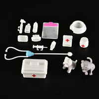 1 Set Fashion Doll Accessories Medical Kit Pets Toy for   Baby Girls  DD