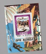 foglietto francobolli corea  zeppelin - 1 valore
