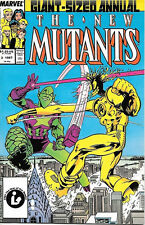 The New Mutants Annual Comic Book #3 Marvel Comics 1984 Fine