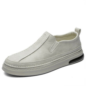 Mens Slip On Loafers Flats Breathable Walking Driving Moccasins Shoes Pumps 44