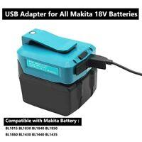 USB Power Charger Adapter Converter for Makita ADP05 14.4/18V Li-ion Battery US