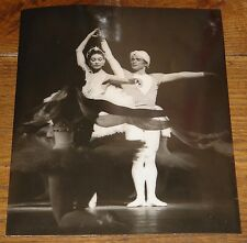 MARGOT FONTEYN RUDOLF NUREYEV NEWSPAPER PRESS PHOTO PHOTOGRAPH 6 WITH STAMPS