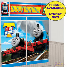 THOMAS THE TANK ENGINE PARTY SUPPLIES SCENE SETTER BIRTHDAY BANNER DECORATIONS