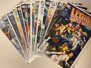 Legion of Superheroes #37-50 NM [DC 2008] full Shooter run, Manapul art.
