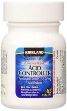 Kirkland Maximum Strength Acid Controller Famotidine 20mg 85 Tablets  1 pack