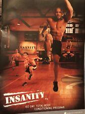 Insanity Shaun T Beachbody 10 DVD Set 60 Day Total Body Workout Program