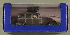 Tintin Herge voiture 38 Limousine Chrysler Six Lotus Bleu atlas 1/43