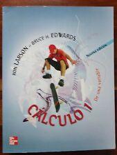 Calculo 1, 9ª edición, Ron Larson, Bruce H. Edwards, Mc Graw Hill