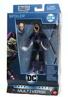 """DC Comics Multiverse Detective Comics Spoiler 6"""" Action Figure w/ Lex Luther NIB"""