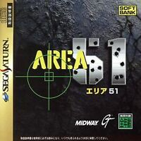 Area 51 SEGA SATURN Japan Version