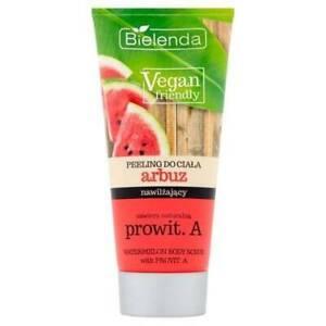 Bielenda Vegan Friendly Watermelon Body Scrub with Provitamin A Exfoliates 200g