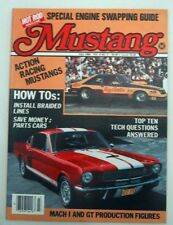 MUSTANG by HOT ROD 1984 FALL V 2, #3 - BUD ANDERSON