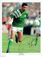 Paul McGRATH Republic of Ireland Legend Signed Autograph 16x12 Photo AFTAL COA