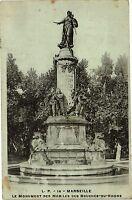 CPA Marseille-Le Monument des Mobiles des Bouches du Rhone (186049)