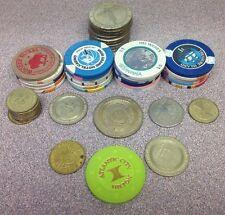 Lot of 45 Souvenir Casino Tokens