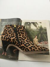 SAM EDELMAN LUCY LEOPARD BOOTIES are NEW with BOX!