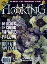 Rug Hooking Magazine Back Issue Volume XXV, #2, September/October 2013