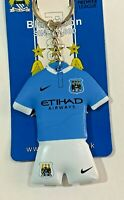 🔥Manchester City FC Official Football Club ( PVC ) Kit Keyring** Great Gift **