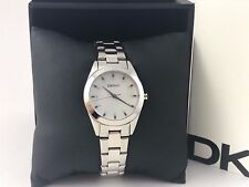 DKNY Mother of Pearl Dial Stainless Steel Ladies Watch NY8619