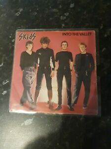 The Skids 7inch Into The Valley White Vinyl Nm Condition